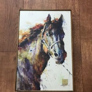 Horse canvas by Dean Crouser